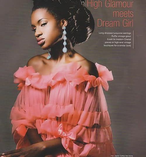Simone Small in Amoi Magazine