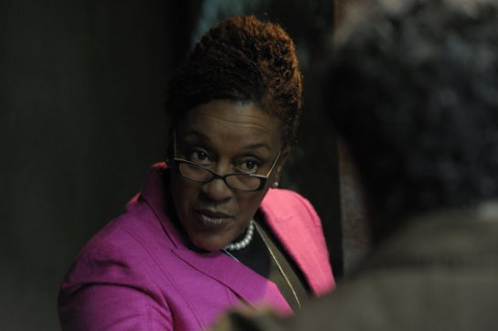 CC Pounder as Detective Claudette Wyms in the Shield