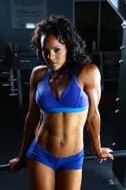 Optimum Fitness Model Alicia Harris
