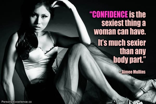 confidence is sexy are you wearing yours today