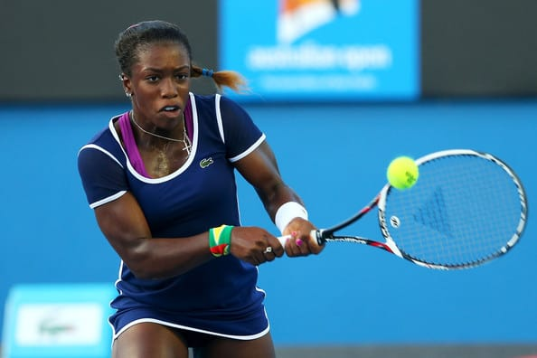 Tennis Star Sachia Vickery