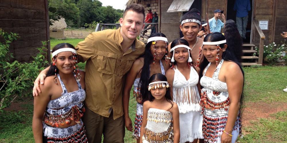 Channing Tatum in Guyana