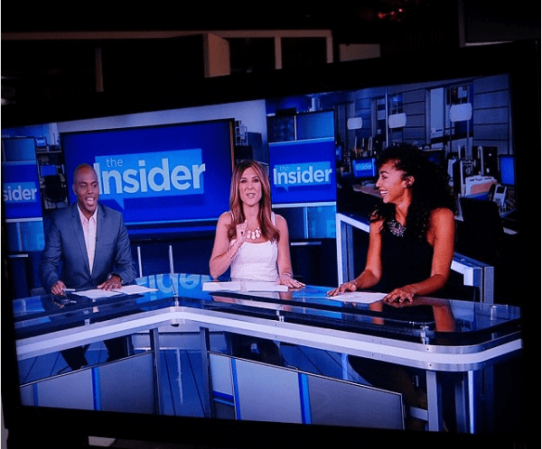 Shannon Boodram on the Insider TV Show