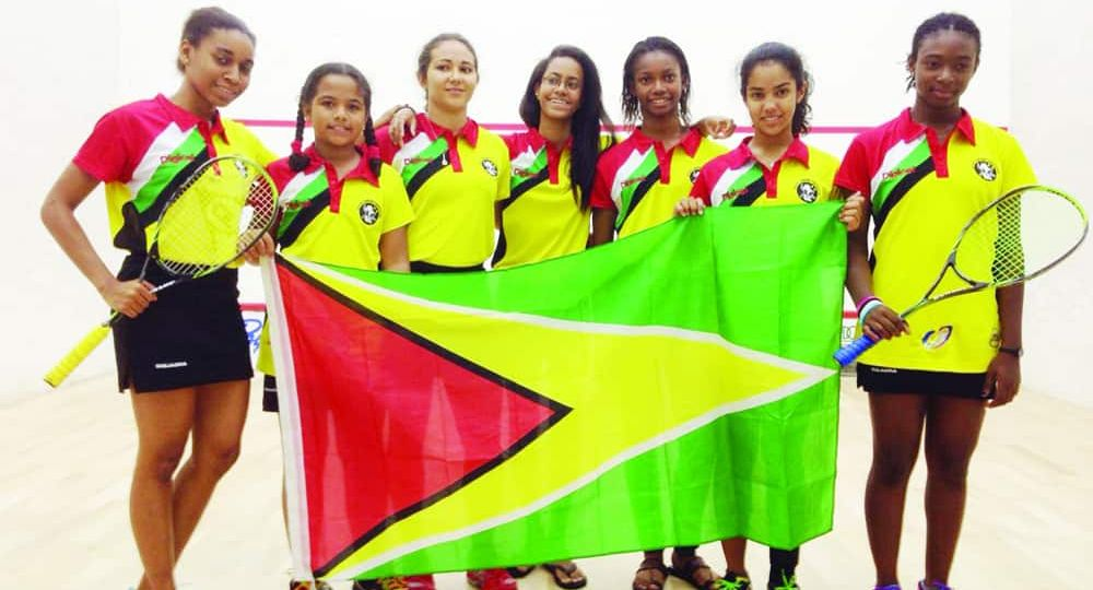 Guyana Girls Squash Champions - 11th Win