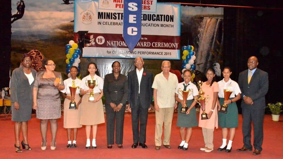 Top CSEC and CAPE Awardees