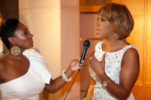 Okema interviewing Gail King, O Magazine Editor-at-Large