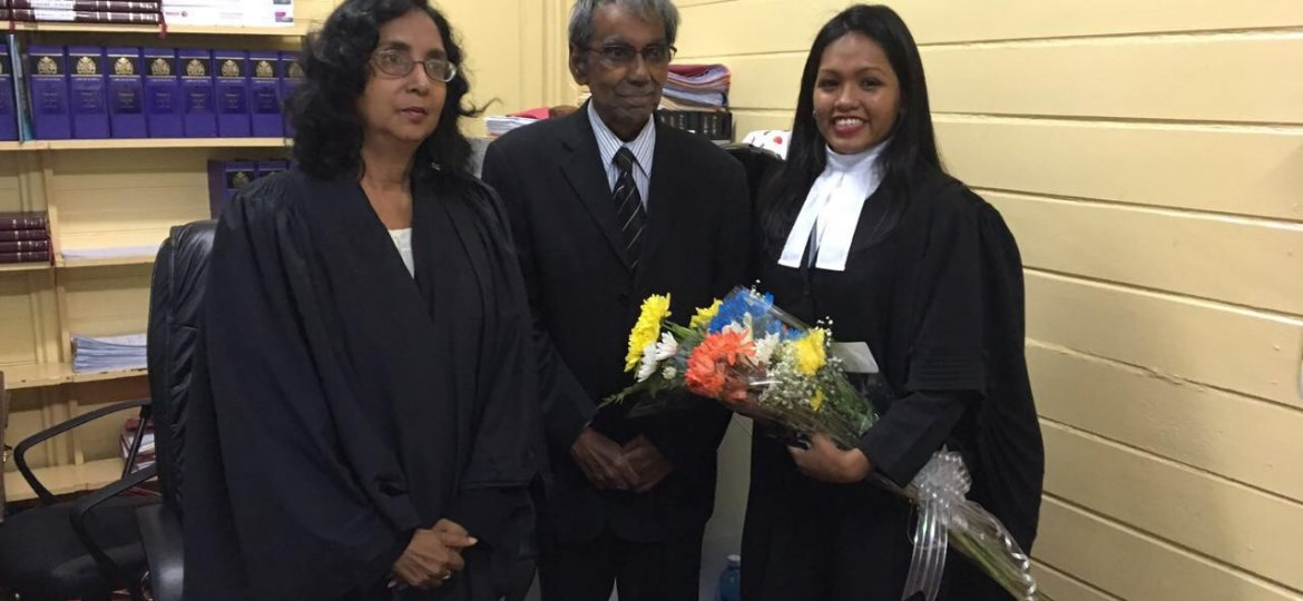 Guyanese among top 4% to graduate from Hugh Wooding with honours