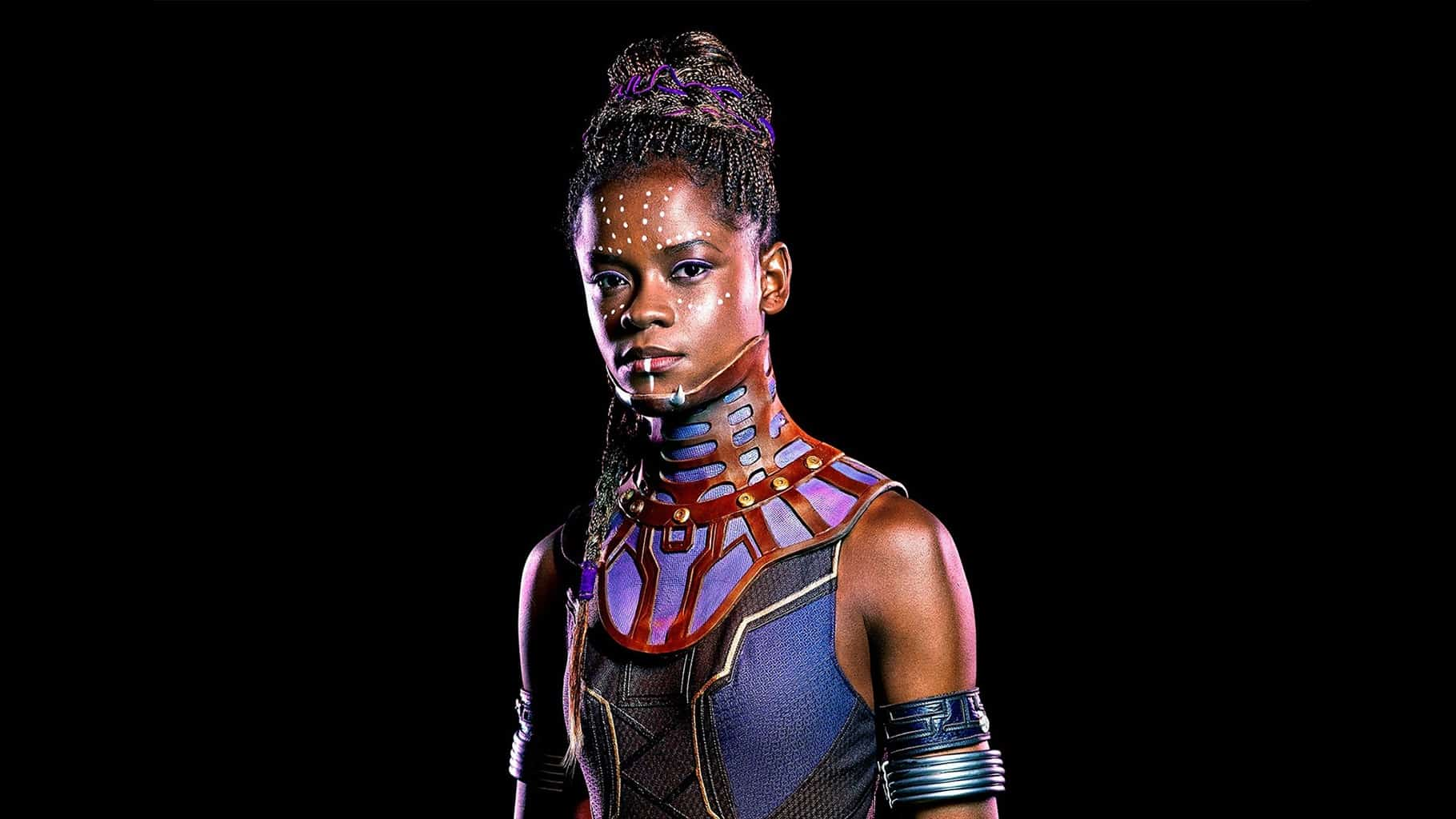Letitia Wright AKA Shuri from Black Panther