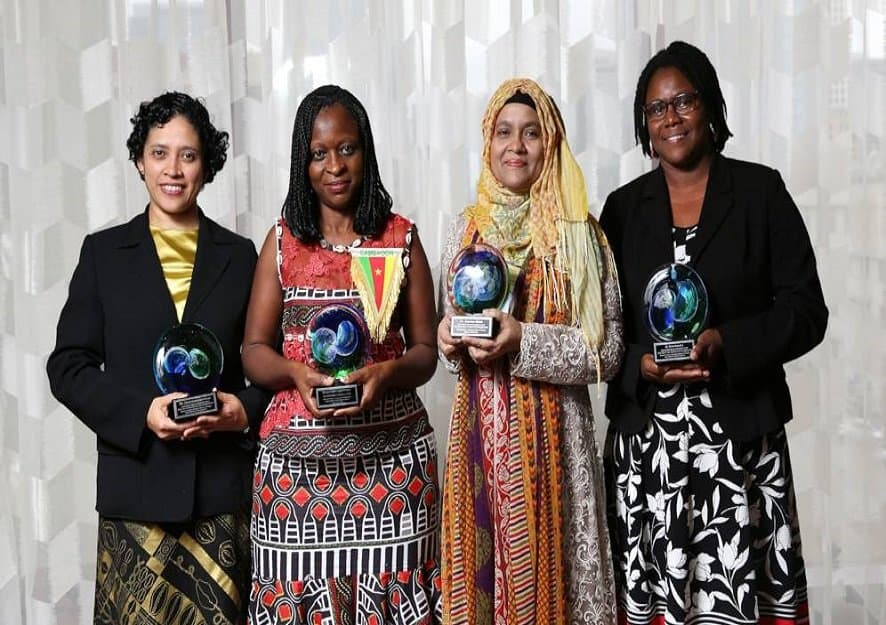 Cameroonian and Guyanese win prestigious prize for women scientists