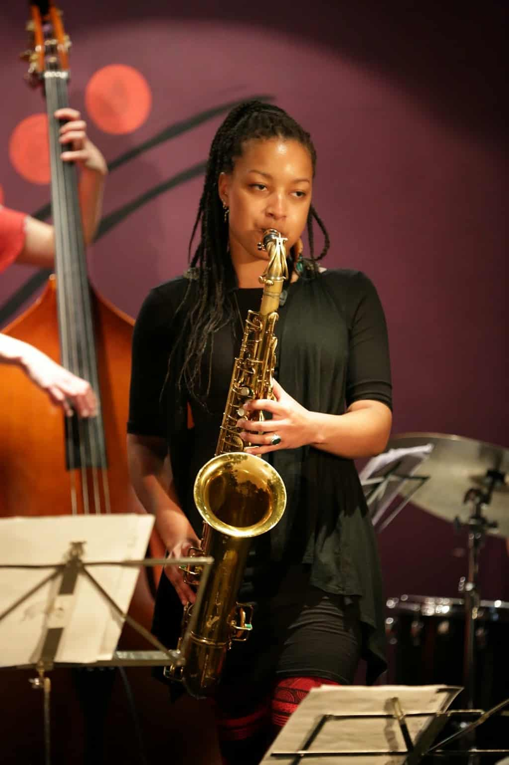 She Rocks Meet Nubya Garcia, Award Winning Jazz -5941