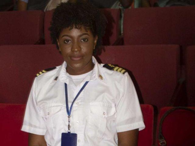 Marine Captain Sherry-Ann Dixon