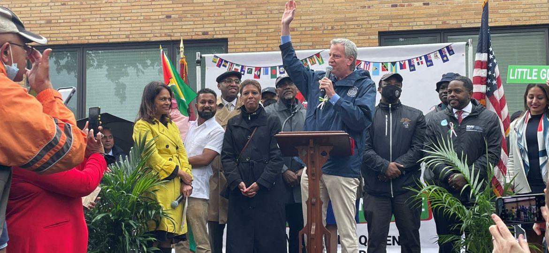 NY Mayor lauds contribution of Guyanese