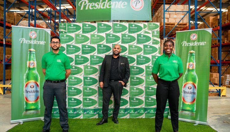 Beepats introduces Presidente beer to Guyana
